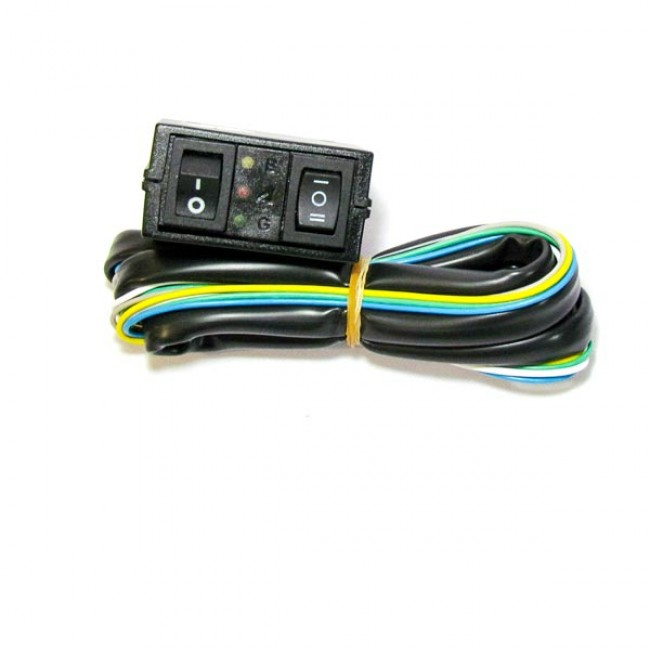 Переключатель газ-бензин LPG (инжектор)  20 Kohm