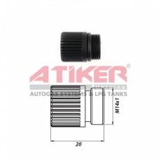 Заглушка для редуктора М14 х 1 с уплотнительным кольцом