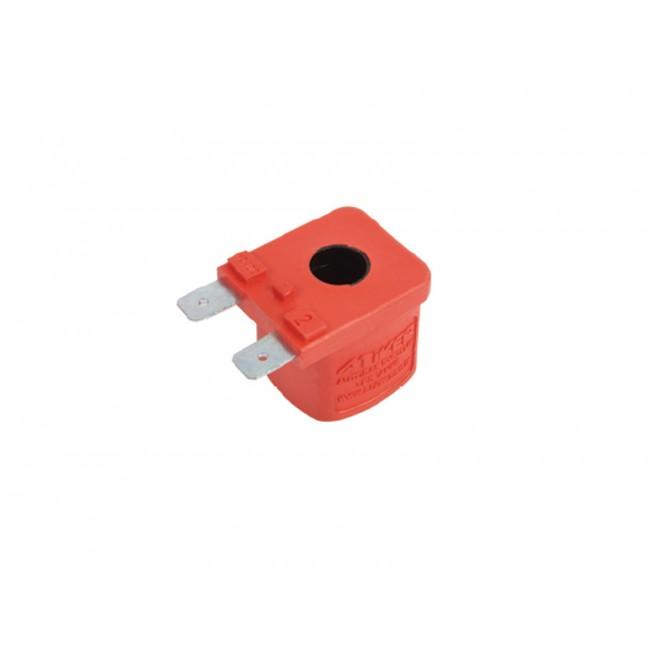 Электромагнитная катушка красная 12 V-DC 17 W
