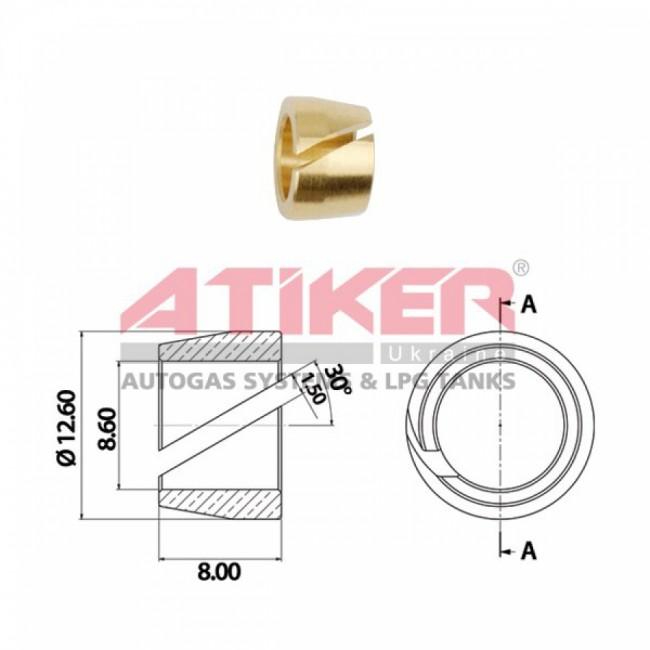 Кольцо для термопластиковой трубки   Ø8